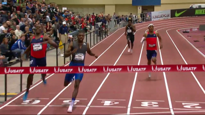Lyles Gets the World Record