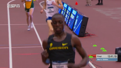 Cheserek made it look super easy for #13