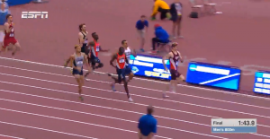 And you thought NCAA indoors was good