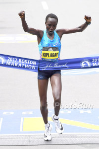 Edna Kiplagat Wins Boston