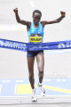 Edna Kiplagat Wins Boston