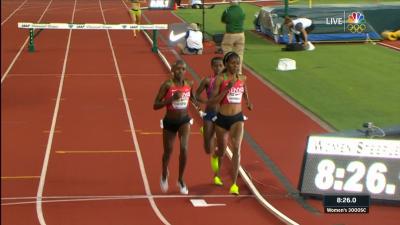 200m to go (Chespol on left)