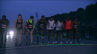 Race started in darkness