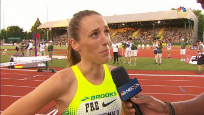 Grunewald after the 1500 at Pre last week