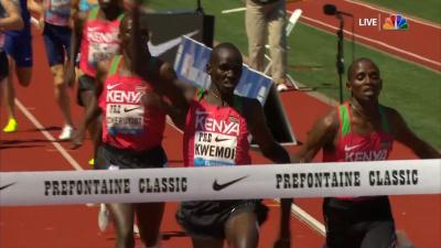 Ronal Kwemoi Wins It