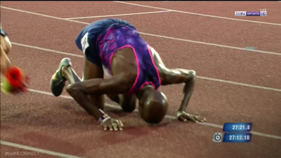 Farah celebrated after yet another victory