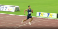 Van Niekerk on his way to 300m world record