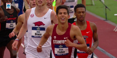 Fisher relied on his kick to win the 5k last spring