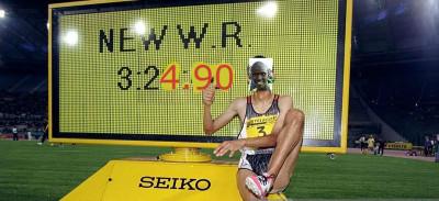 Your new world altitude WR holder - Ronald Kwemoi
