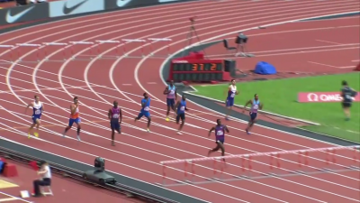 Clement (lane 7) had a tone of ground to make up in the last 100