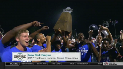 Empire celebrate with team title