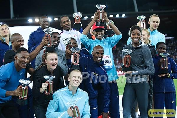 Diamond League Winners