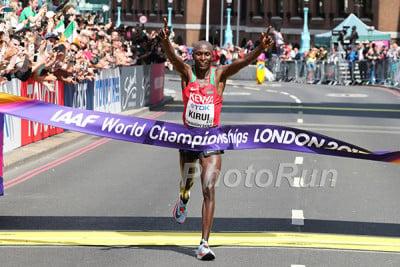 Geoffrey Kirui Wins 2017 World Championships