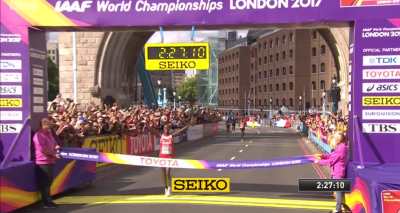 Rose Chelimo - the world champion