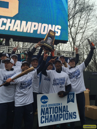 Syracuse celebrating its 2015 national title
