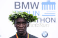Eliud Kipchoge After 2017 BMW Berlin Marathon