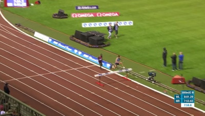 Kipruto still had some ground to make up entering the last barrier