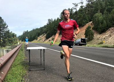 Braun will run his first marathon as a member of NAZ Elite on Sunday courtesy NAZ Elite
