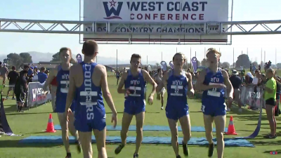 BYU crushed the competition at the WCC meet on October 27
