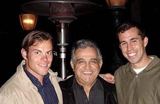 Shay, Vigil, and Sean Zanderson, a former Notre Dame teammate
