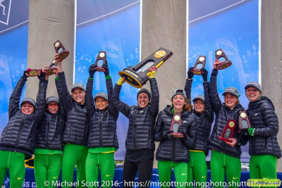 Oregon has won two titles in the past five years, including last year in Terre Haute