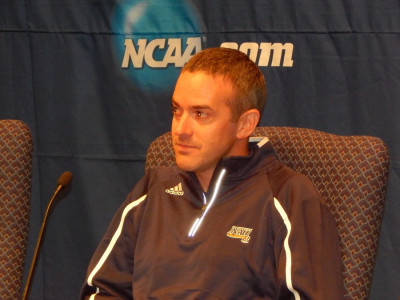 Heins before NCAAs in 2013, where his Lumberjacks would finish as runners-up