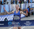 Molly Huddle Wins Abbott Dash to Finishline 5k