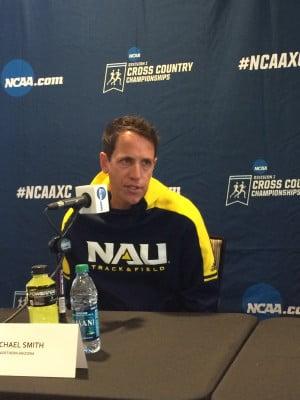 NAU coach Mike Smith