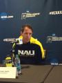 NAU coach Mike Smith