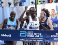 Shadrack Kipchirchir Wins Abbott Dash to Finishline 5k