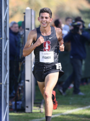 Will Grant Fisher have something to smile about on Saturday? Photo courtesy StanfordXCTF.