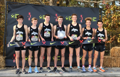 Loudoun Valley after claiming the NXR Southeast title last week. Photo courtesy Joan Hunter.