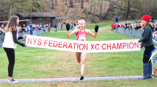 Earlier this month, Tuohy became the first HS girl to break 17 minutes at Bowdoin Park