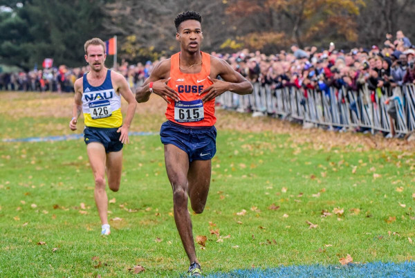 Justyn Knight Wins 2017 NCAA Cross Country Crown - photo by Mike Scott