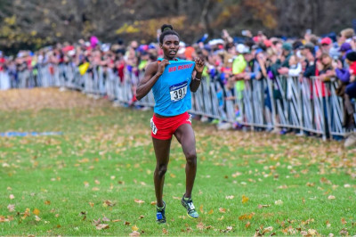 Ednah Kurgat Wins 2017 NCAA XC Crown -photo by Mike Scott