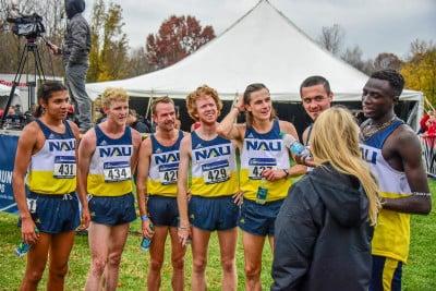 NAU - The 2017 National Champions- photo by Mike Scott
