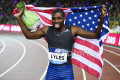 Noah Lyles after Brussels win