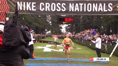 Troutner pulled the upset to win in his first national championship appearance