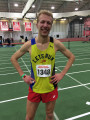 Ben didn't hit the World Indoor standard but did the LRC singlet proud on Friday
