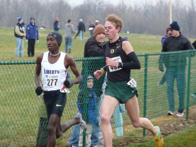 Rupp's greatest cross country victory: 2008 NCAA XC