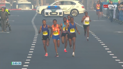 The ridiculous finishing straight in Dubai