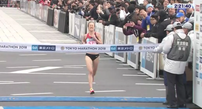 Cragg ran a big PR to become just the fifth American woman under 2:22