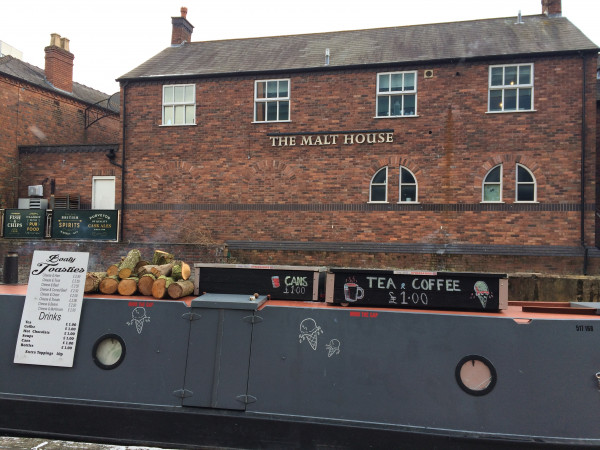 Another view of the pub -- The Malt House
