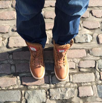Boots, meet ground