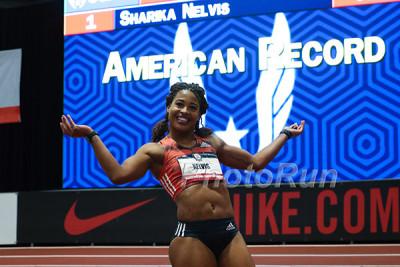 Sharika Nelvis American Record Holder