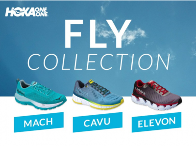 Check out the new Hoka One One Fly Line