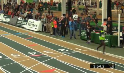Cheserek wins in 3:53