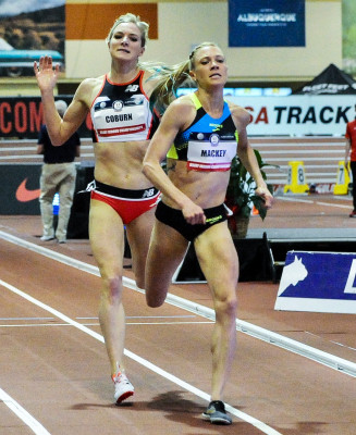 Mackey duels with Coburn in the home straight