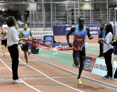 Dominant final lap for Korir