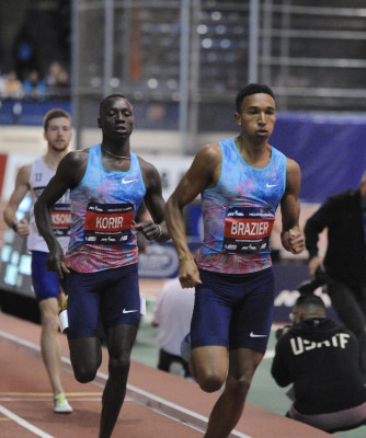 Korir and Brazier will square off again in Eugene